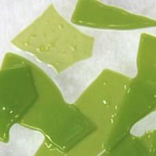 C626 - Pea Green Opal Confetti