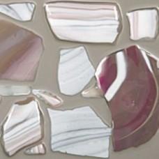 C690 - Mid Pink / White Streaky Confetti