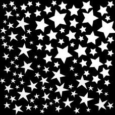 White Stars Decal