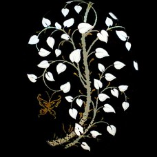 Butterfly & Tree Decal