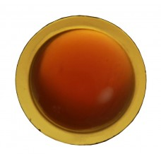 33mm Round Amber Lens