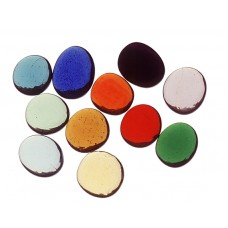 15mm Cathedral Nuggets - Hot Colours - 250g