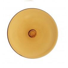 RON110L - Light Amber Rondel - 80mm