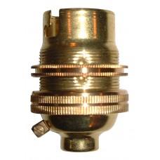 BC Bulb Holder - Brass