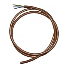3 Core (0.75) Gold Cable - 1 Metre