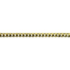 Brass Perforated Channel - 915mm