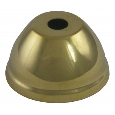 50mm Polished Brass Cone Vase Cap