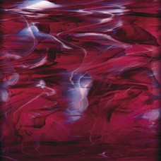 3496S - Dark Purple/White Wispy Opal