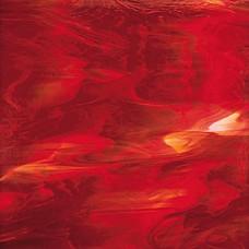 3571S - Dark Red/White Translucent Opal