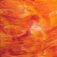 6755S - Red/Orange Opal