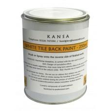 White Tile Back Paint - 250ml